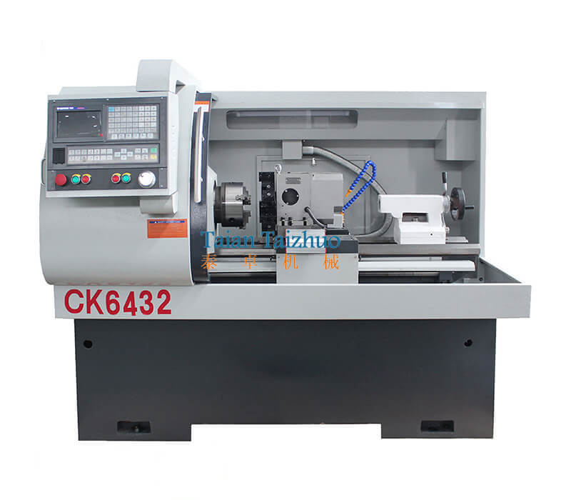 CNC Lathe Machine CK6432 3CNC Lathe Machine CK6432 3