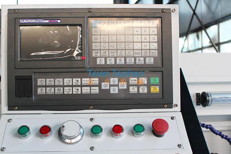Flat Bed CNC Lathe Machine CK0640 01