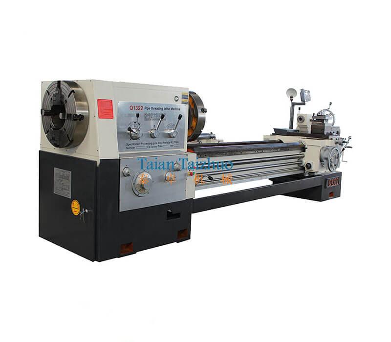 Pipe Threading Universal Lathe Machine Q1322 1