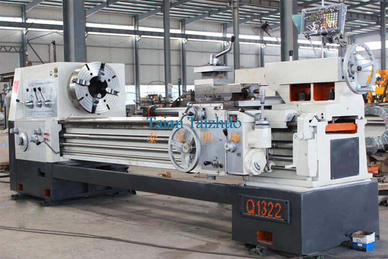 Pipe Threading Universal Lathe Machine Q1322 7