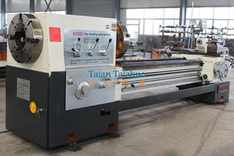 Pipe Threading Universal Lathe Machine Q1322 8