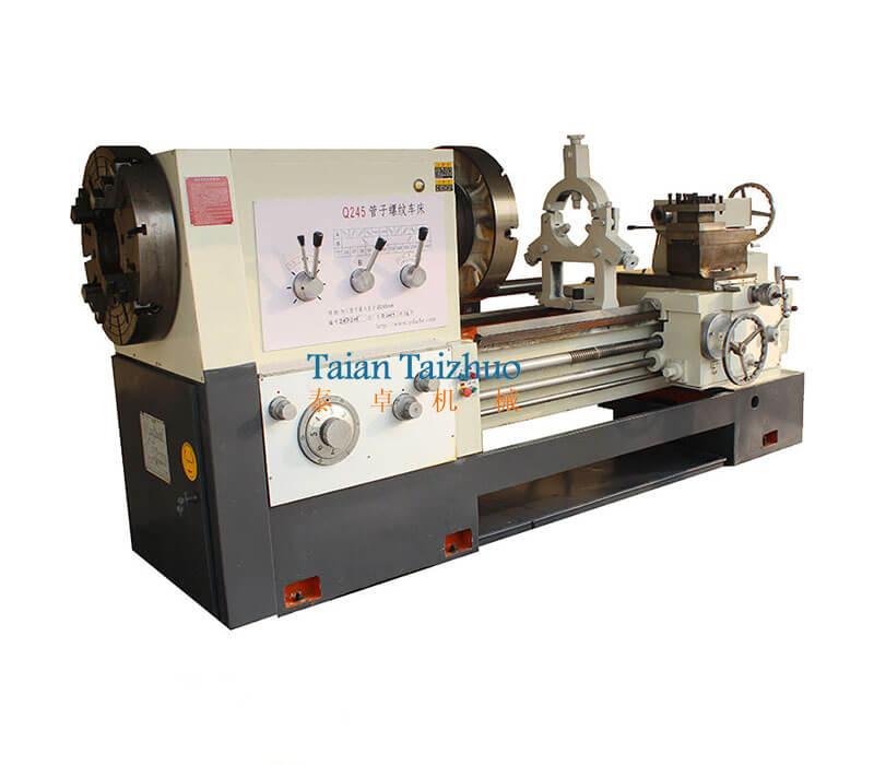 Pipe Threading Universal Lathe Machine Q245 (1)