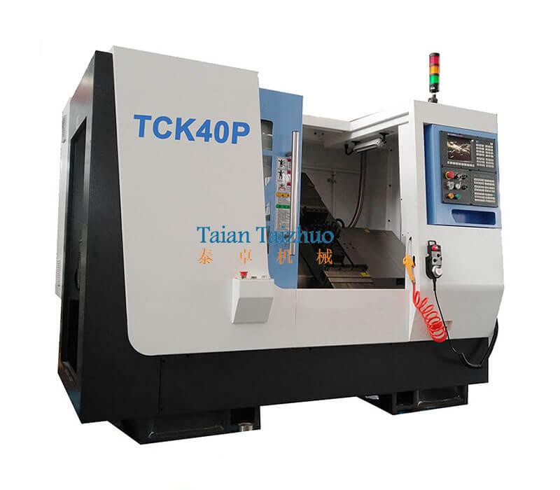 Slant Bed CNC Lathe TCK40P (1)