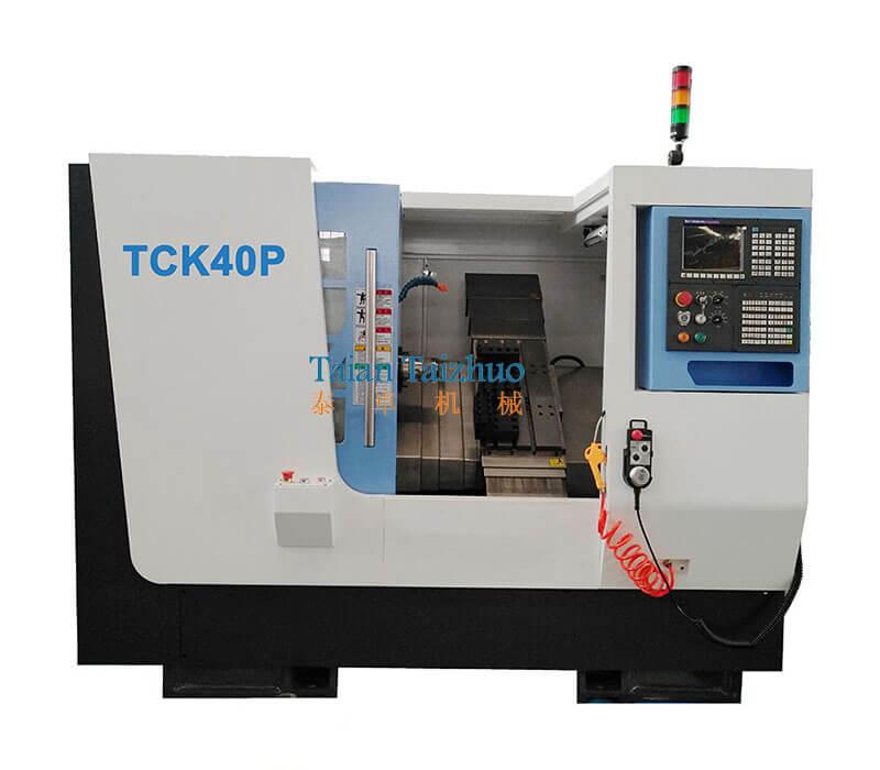 Slant Bed CNC Lathe TCK40P (2)