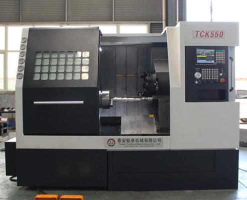 TCK550 slant bed cnc lathe machine